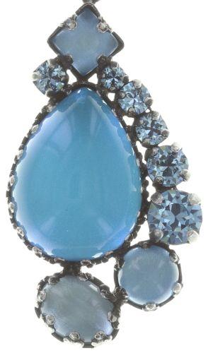 Konplott Jelly Star Halskette mit Anhänger in hellblau 5450543714103