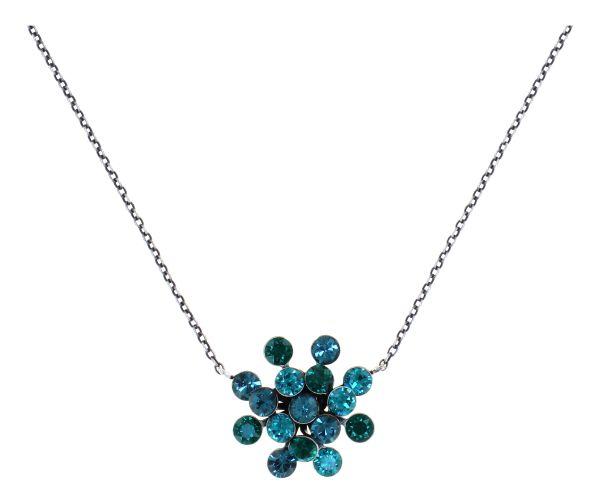 Konplott Magic Fireball Halskette Emerald Blue Classic Size 5450543936277