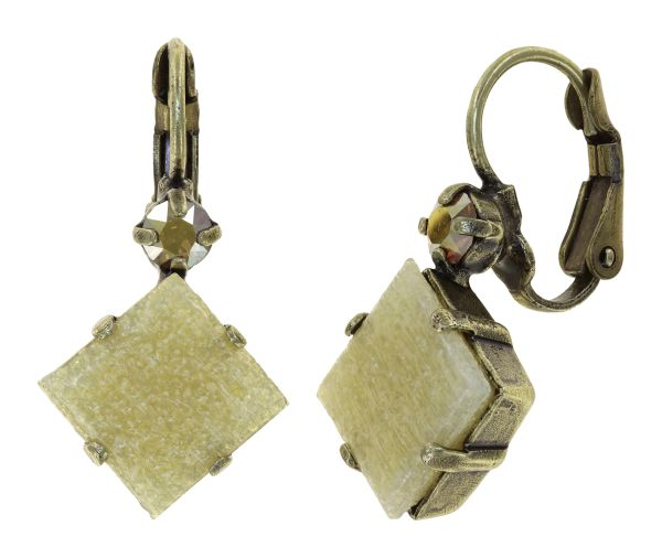 Konplott Cleo Ohrhänger Gold And Sand in braun 5450543911854