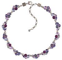 Konplott Petit Glamour steinbesetzte Halskette in lila 5450543760124