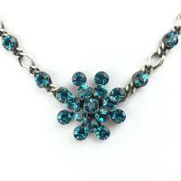 Vorschau: Konplott Magic Fireball Halskette steinbesetzt mit Anhänger in indicolite 5450527640190