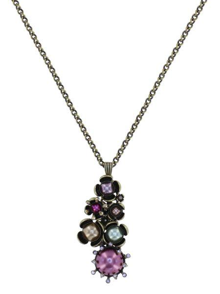 Konplott Halskette in multi - Where the Lilac Bloom 5450543884714