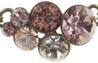 Vorschau: Konplott Petit Glamour steinbesetzte Halskette in beige 5450543682396