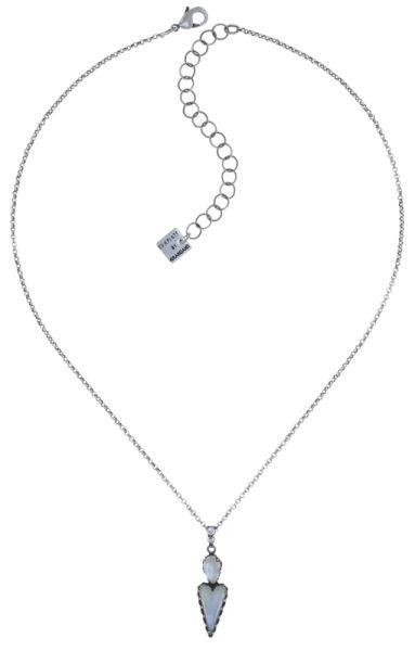 Konplott Snow White Halskette mit Anhänger in in weiß Größe S 5450543755885