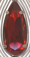 Vorschau: Konplott Amazonia Ohrhänger in rot, Größe M 5450543752907