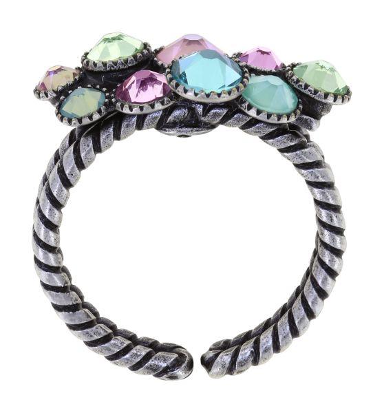 Konplott Water Cascade Ring in Miami Ice pastel multi 5450543907383