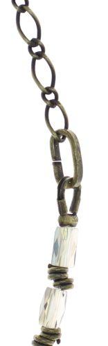 Konplott Night Sun Halskette mit Perlenausschnitt in grün/lila 5450543787015