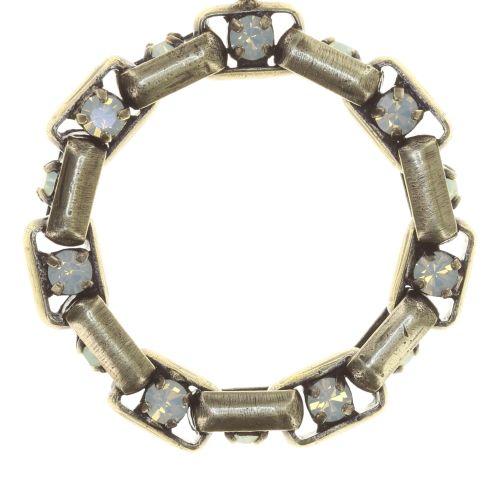 Konplott Industrial Ohrringe hängend in chrysolite grün 5450543853949