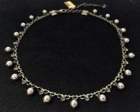 Vorschau: Konplott Pearl Shadow black diamond Halskette steinbesetzt 5450527480741