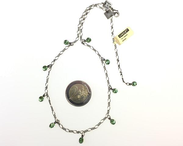 Konplott Tutui peridot Halskette steinbesetzt 5450527641135