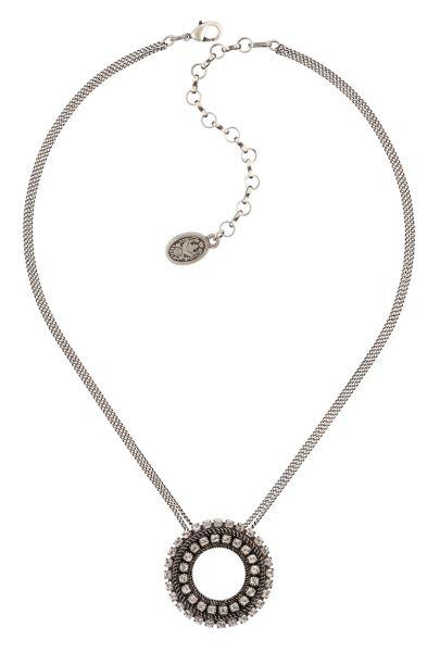 Konplott Rock 'n' Glam Halskette in crystal weiß 5450543776972