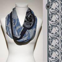 Vorschau: Konplott Schal Floral 4 in blau 5450543806846