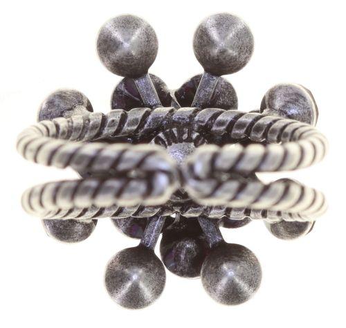 Konplott Magic Fireball Ring in clubbing rot siam shimmer 5450543852751