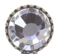 Vorschau: Konplott Global Glam Ohrringe hängend in crystal weiß 5450543791579