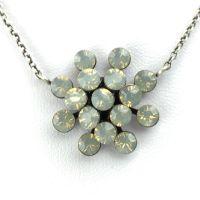 Vorschau: Konplott Magic Fireball Halskette mit Anhänger in light grey opal 5450527767354