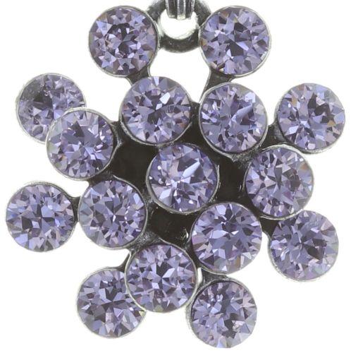 Konplott Magic Fireball Halskette mit Anhänger Mini in Lila/Violet 5450543721422