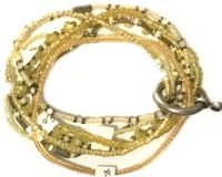 Vorschau: Konplott Petit Glamour d'Afrique Armband in gelb 5450543786179