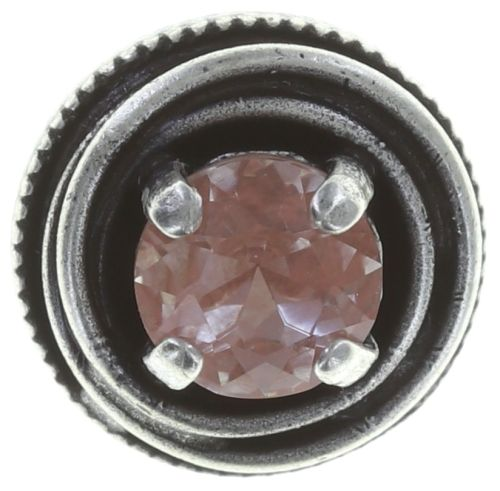 Konplott Cages Ohrstecker in pink Silberfarben 5450543747941