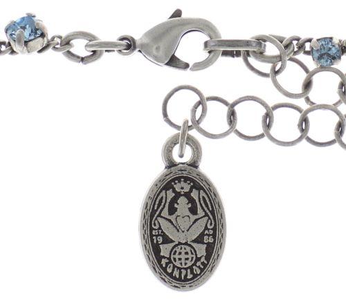 Konplott Jelly Star steinbesetzte Halskette in hellblau - Gebraucht wie neu 5450543714066