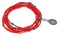 Konplott Petit Glamour d'Afrique Armband in rot antique 5450543777542