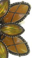 Vorschau: Konplott Psychodahlia Ring in gelb Messing 5450543730462