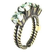 Konplott Colour Snake Ring in Chrysolite, hellgrün 5450527131155