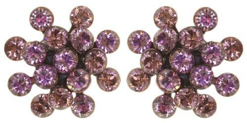 Konplott Magic Fireball Mini Ohrring Ohrstecker Deep Rose in rosa 5450543892856
