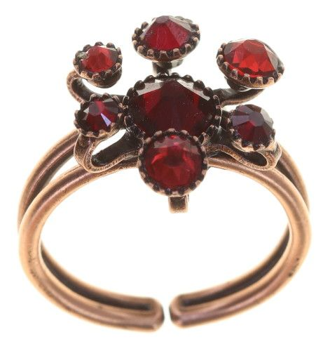 Konplott Alien Caviar Ring Forever Red 5450543891972