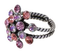 Konplott Magic Fireball Ring in pink/lila Classic Size 5450543914541