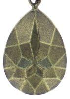 Vorschau: Konplott Tears of Joy Halskette mit Anhänger in baun crystal cappucci Größe M 5450543763439