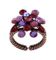 Konplott Magic Fireball Ring Winter Cherries in Classic Size 5450543936567