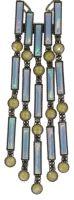 Vorschau: Konplott Graphic Flow Halskette in blau/gelb antique 5450543866475