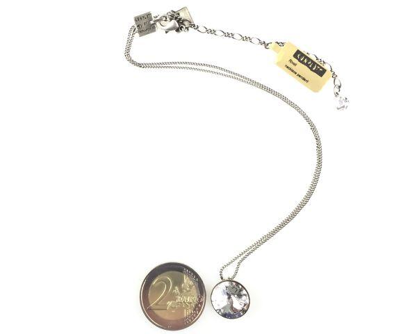 Konplott Rivoli crystal weiße Halskette mit Anhänger 5450527558143