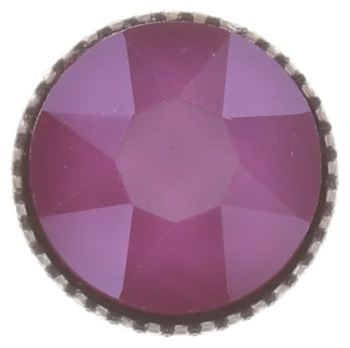 Konplott Black Jack Ohrstecker klassisch groß in peony pink, crystal 5450543730660