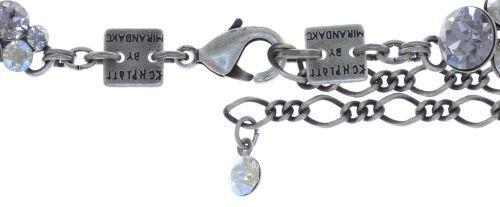Konplott Petit Glamour steinbesetzte Halskette in weiß 5450543760209
