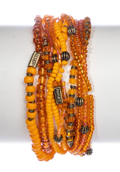 Konplott Petit Glamour d'Afrique Armband in orange antique 5450543865140