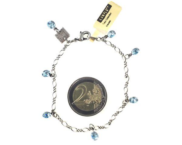 Konplott Tutui aquamarine Armband verschließbar 5450527641203