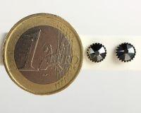 Vorschau: Konplott Black Jack Ohrstecker klein in black jet hematite, schwarz 5450527610230