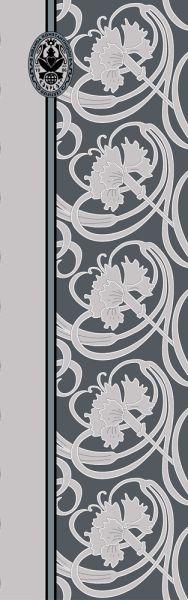 Konplott Schal Floral 4 in blau 5450543806846