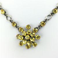 Vorschau: Konplott Magic Fireball Halskette steinbesetzt mit Anhänger in light topaz 5450527640596