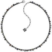 Vorschau: Konplott Water Cascade Halskette in Silver Carbon schwarz 5450543907659