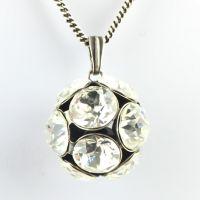 Konplott Disco Balls crystal Halskette lang mit Anhänger L 5450527596978