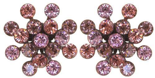 Konplott Magic Fireball Ohrring Rosy Rose klassisch 5450543893686