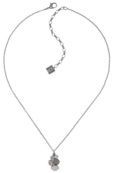 Konplott Petit Glamour Halskette Stone White 5450543880754