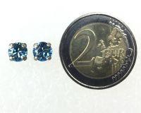 Vorschau: Konplott Black Jack Ohrstecker hellblau Silberfarben 5450527329941