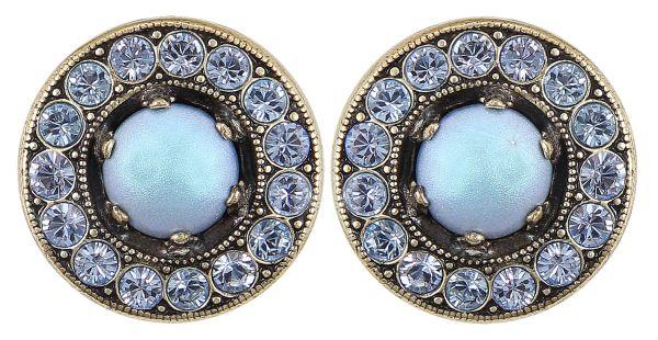 Konplott Simply Beautiful Ohrstecker in blau 5450543779782