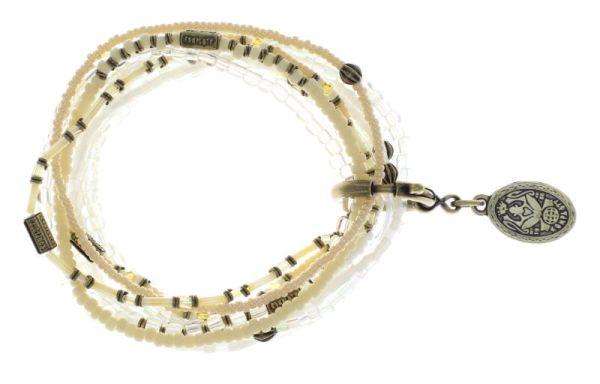 Konplott Petit Glamour d'Afrique Armband in beige antique 5450543865263