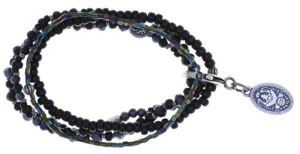 Konplott Petit Glamour d'Afrique Armband in schwarz antique 5450543777245
