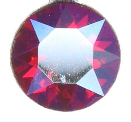 Konplott Magic Fireball Halskette in clubbing rot siam shimmer 5450543852713