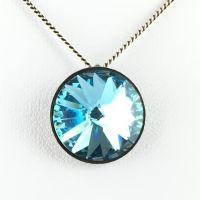 Konplott Rivoli aquamarine Halskette mit Anhänger 5450527612883